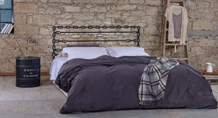 Full size metal bed ATHINA 01