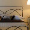 Wrought iron bed AVRA 05