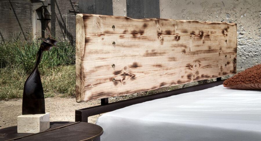 industrial metal bed