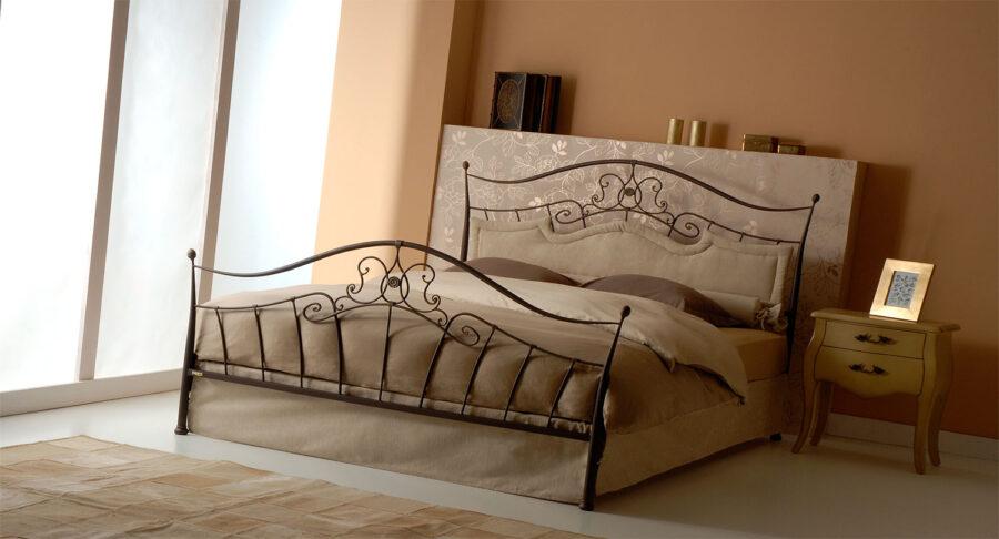 Vintage metal bed frame DALIA 07