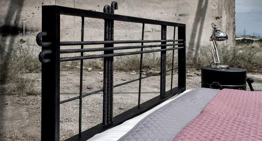 industrial metal bed frame
