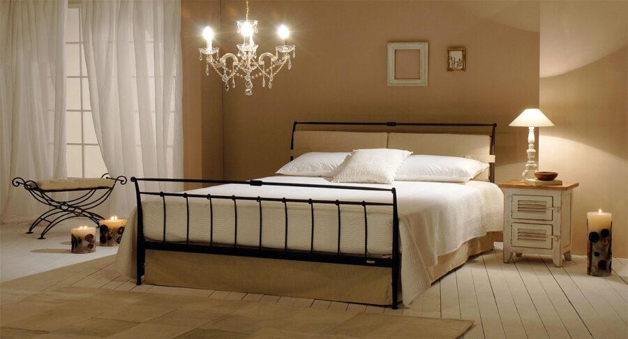 Μεταλλικό κρεβάτι μονό TEMPER