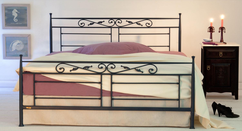 Διπλό κρεβάτι μεταλλικό VERONA Classic