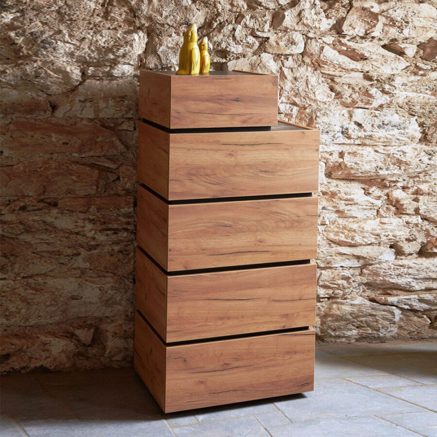 Industrial chest of drawers DIMITRA-02