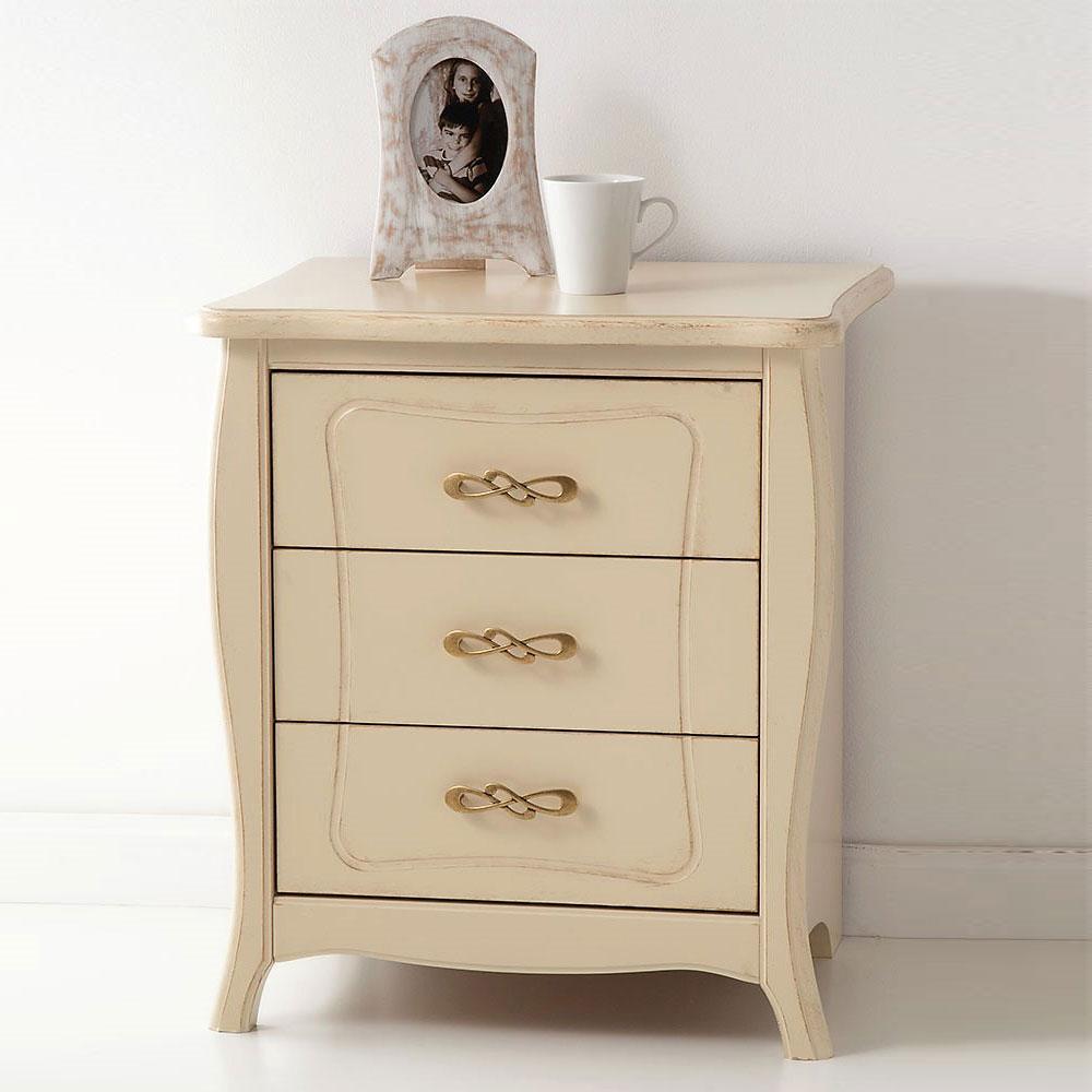 3 drawer nightstand GARDEN
