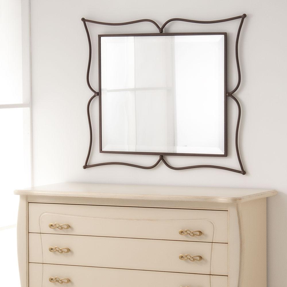 Metal mirror frame AVRA