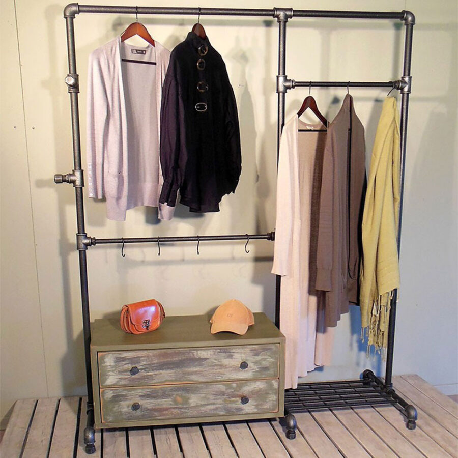 Metal wardrobe INDUSTRIAL mod.01-07
