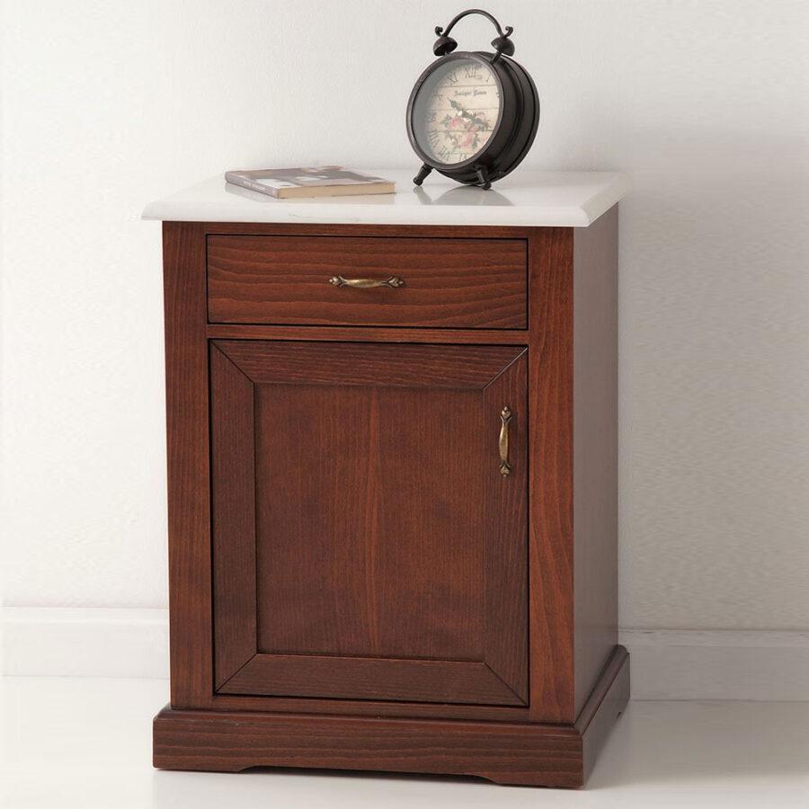 Marble nightstand NEFELI