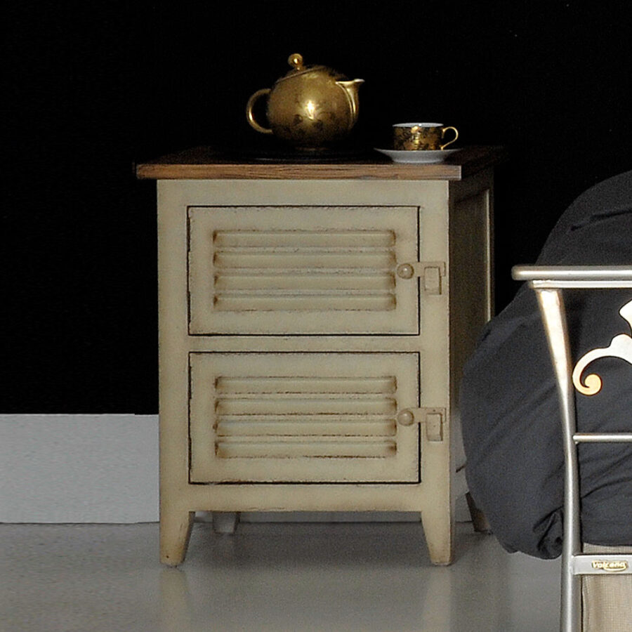 Two drawer night stand TEMPER