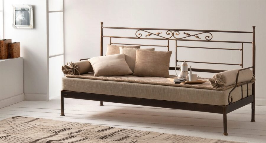 Metal sofa VERONA CLASSIC01
