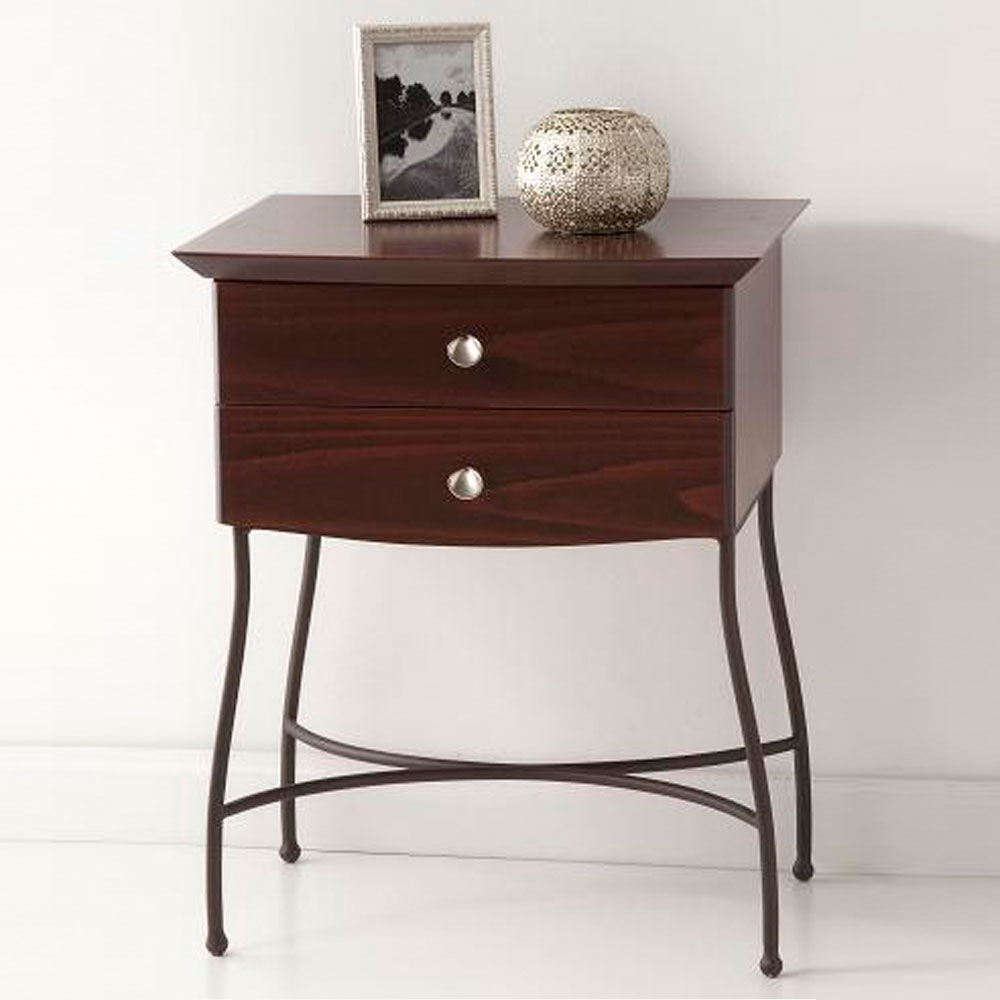 2 drawer nightstand VERONA mod.02