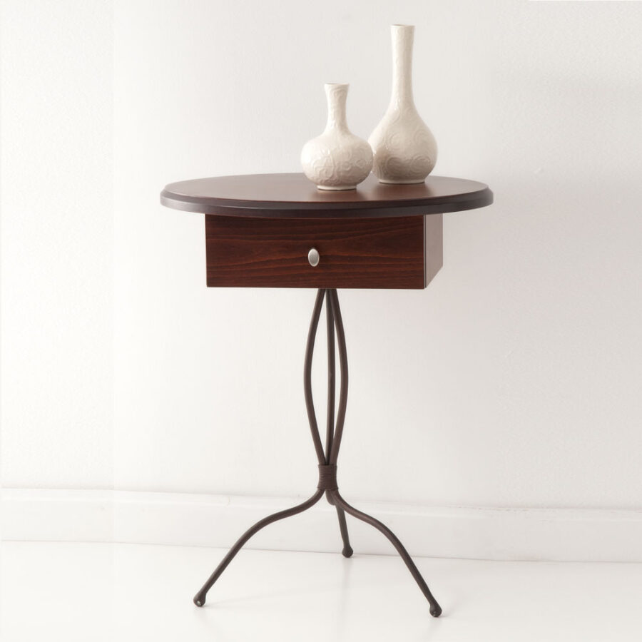 Bedroom end table VOLCANO OVAL
