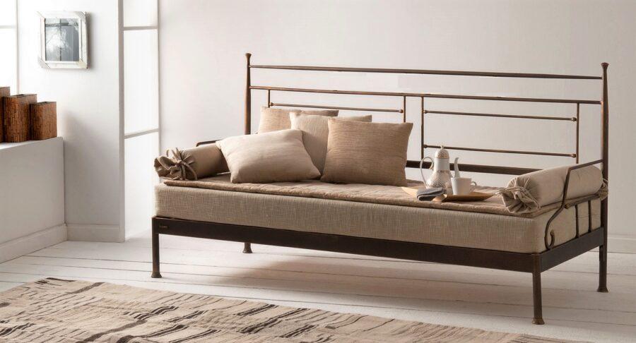 Metal sofa bed VERONA 01
