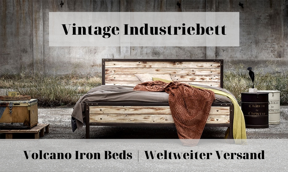vintage industriebett